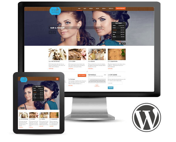 Wordpress Website Design & Branding